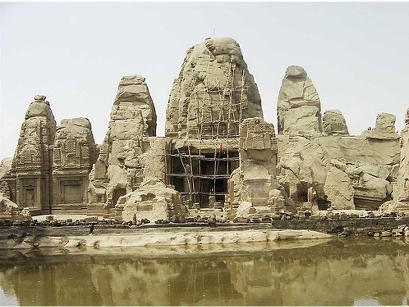 TEMPLE OF MASRUR- KANGRA VALLEY