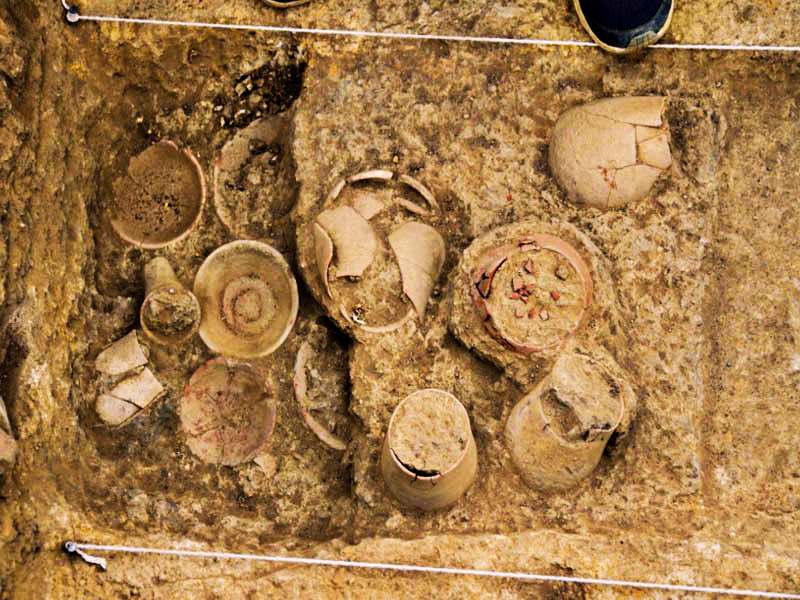 Archaeologists Find Harappan burial site with 5,000-year-old skeleton in Kutch