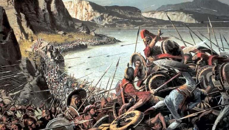 Comparisons with Battle of Thermopylae (300 Spartans)