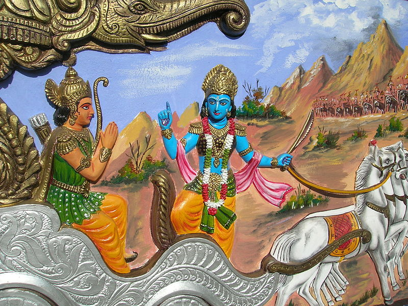 Bhagavad Gita - Krishna describes 4 types of Yoga