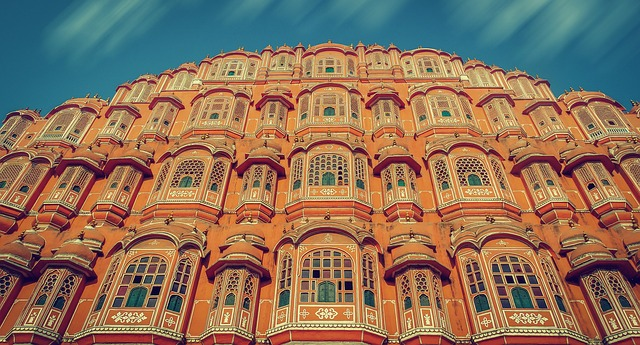 What was the reason for Jaipur to be called Pink city of India