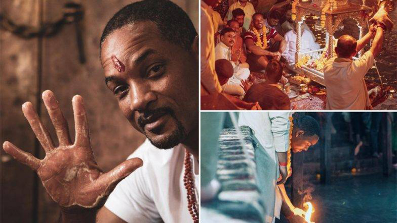 Will Smith Visits Haridwar Gets Mesmerized by Ganga Aarti