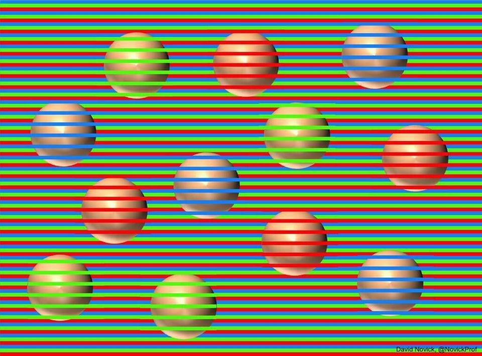 Balls In This Optical Illusion