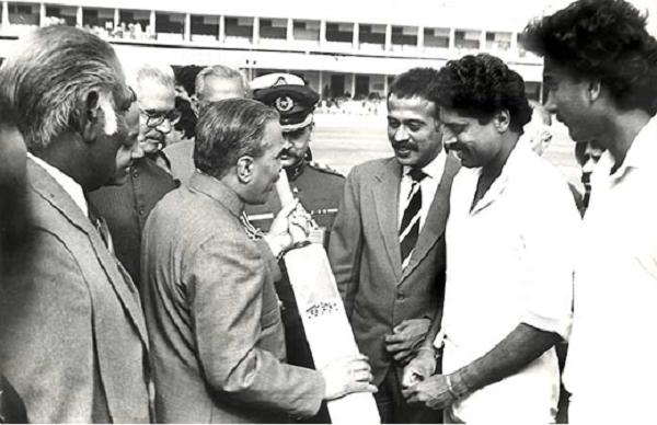 Birth of cricket diplomacy