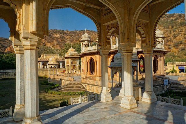 Chhatris of Gaitore