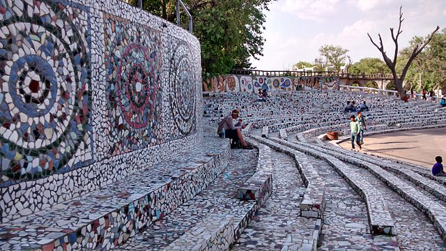 Get surprised to see the creativity at Rock Garden in Chandigarh