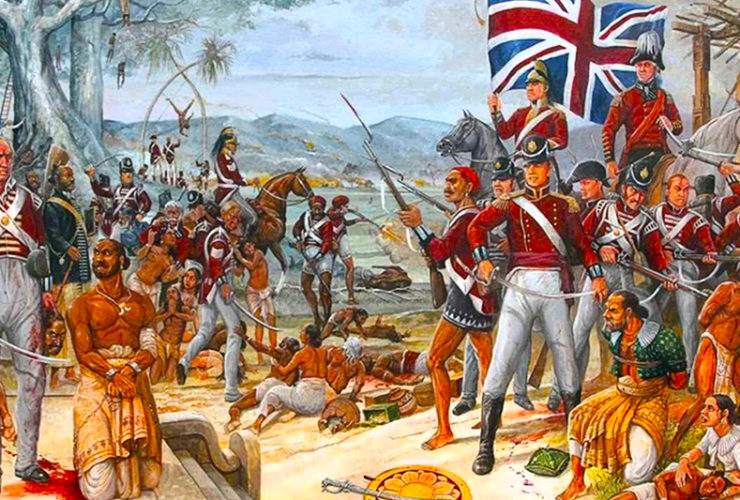 How did the British Manage to Rule Large India with Only a Few Soldiers