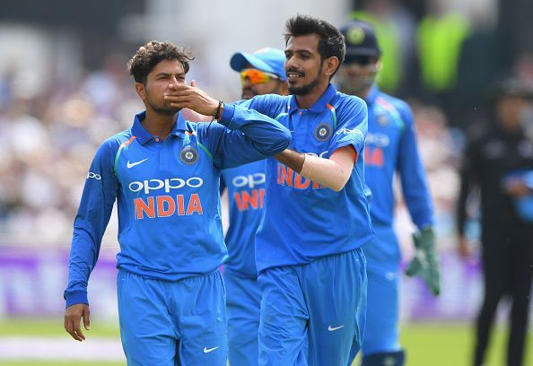 Kuldeep and Chahal
