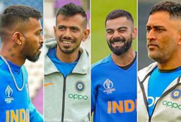Men In Blue Sport a New Haircuts After Pakistan Win
