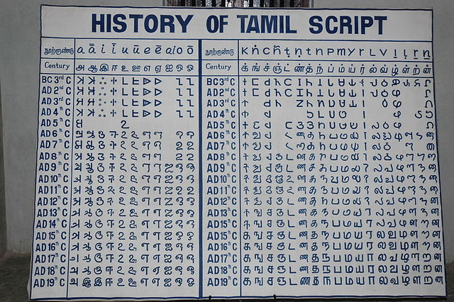 Root words of Tamil are found in languages across the world