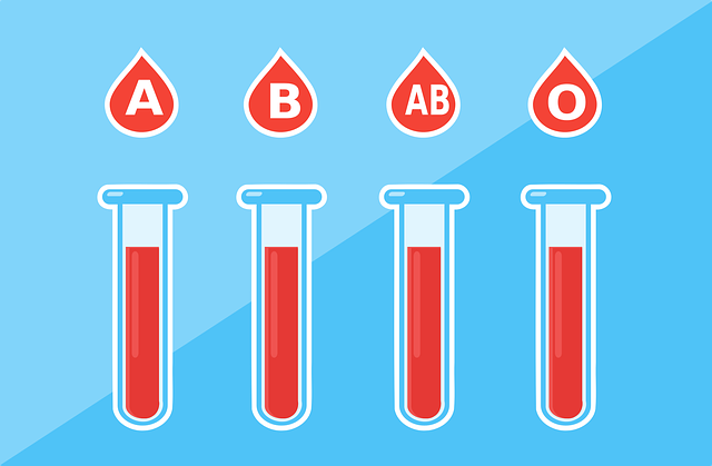 What makes a distinct blood type or blood group
