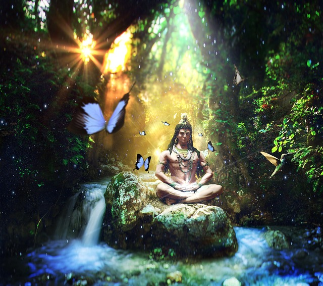 Shiva the Adi Yogi in Yogic tradition