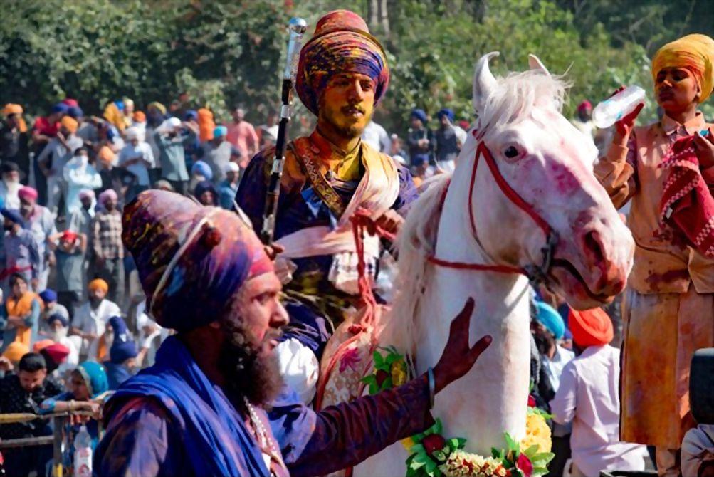 Anandpur Sahib, Punjab Warrior Holi