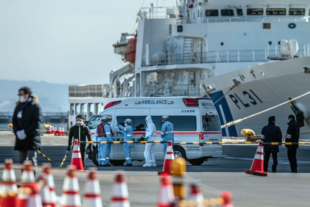 Indians Stuck on Diamond Princess Luxury Cruise in Japan