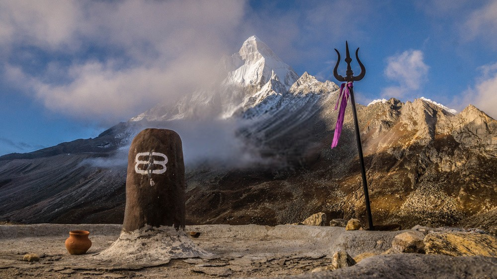 The Story behind Lord Shiva's Trishul (trident) and three lines