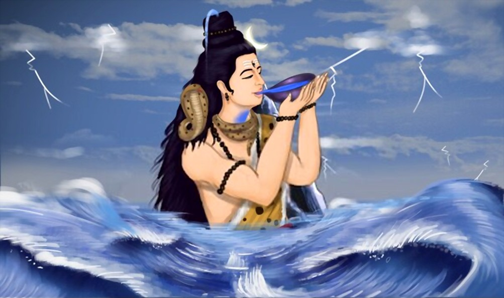 The legend of Neelkanth, Blue Throat of Shiva