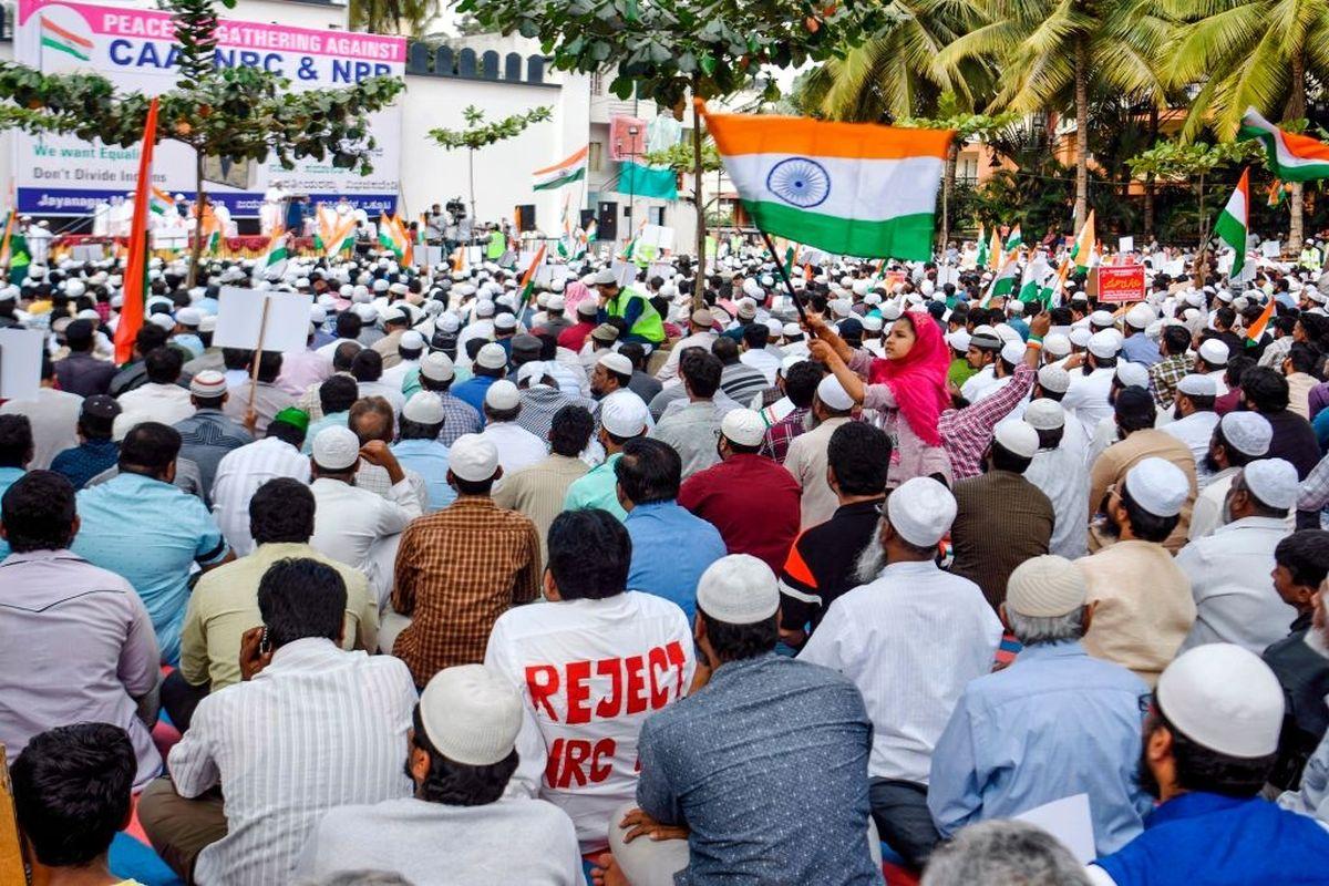 Woman Shouts Pakistan Zindabad at Asaduddin Owaisi's rally in Bengaluru