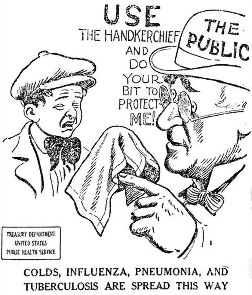 Public Health Warning, 1918
