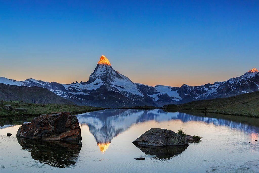Matterhorn during sunrise