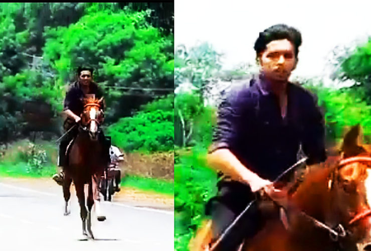 A video of Karnataka BJP MLA Niranjan Kumar's son riding a horse on national highway near Gundlupet has gone viral. After social media outrage over the incident, police have said they are looking into the matter.