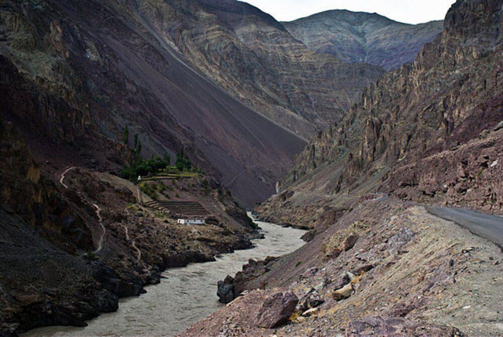 New road India built in Ladakh