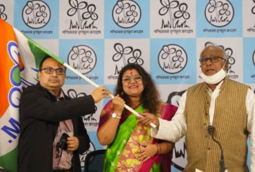 BJP MP's Wife Joins TMC, Serves Divorce Notice