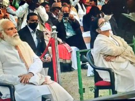"""Picture of the Day,"" People are Calling Mamata and Modi Sitting Together as One"