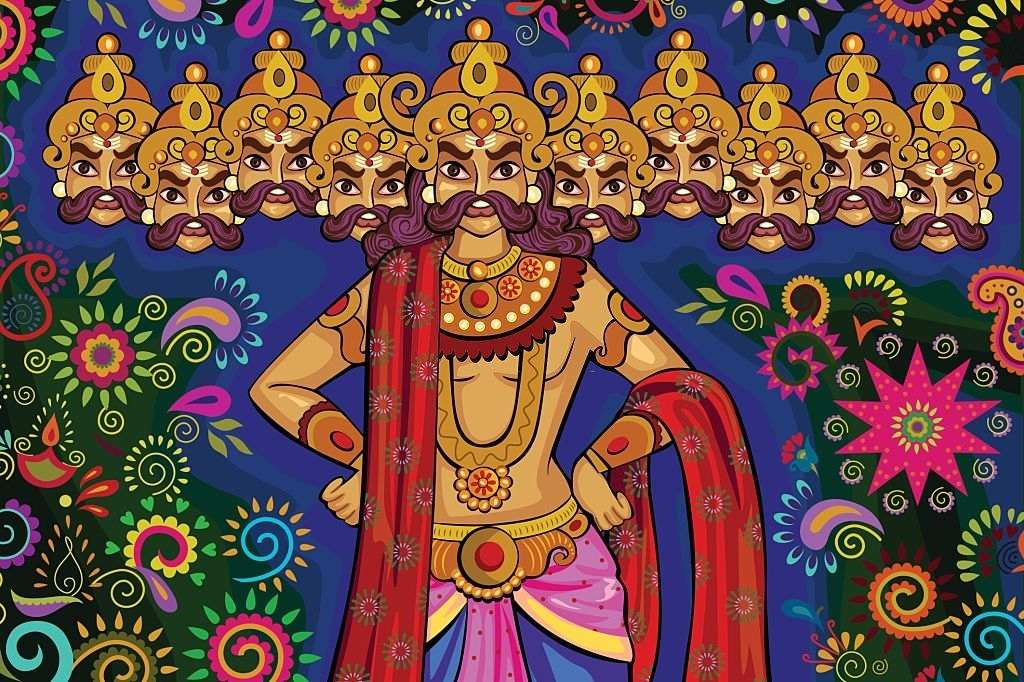 Ravana performed the commencement puja for the Setu build by Rama and his army of monkeys and also blessed him