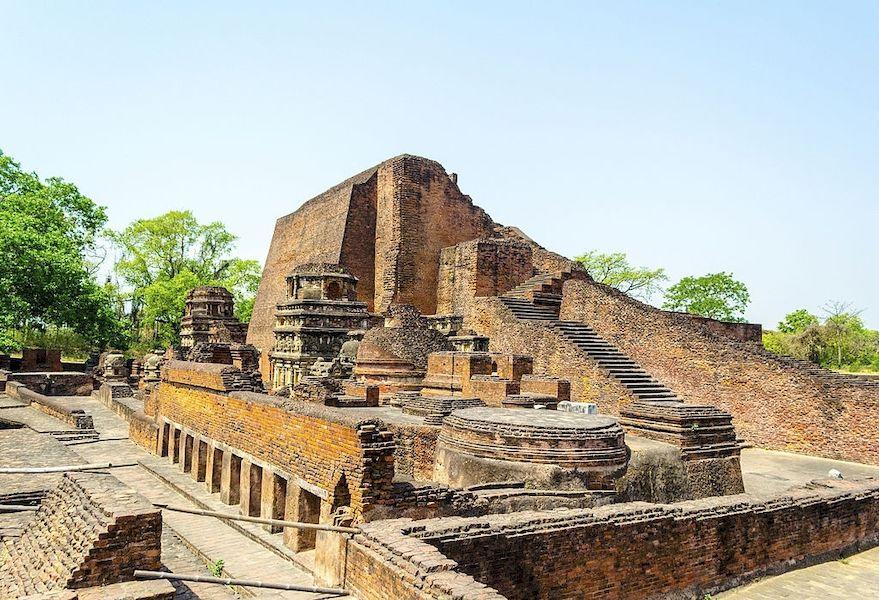 Ruins of Nalanda University in Bihar
