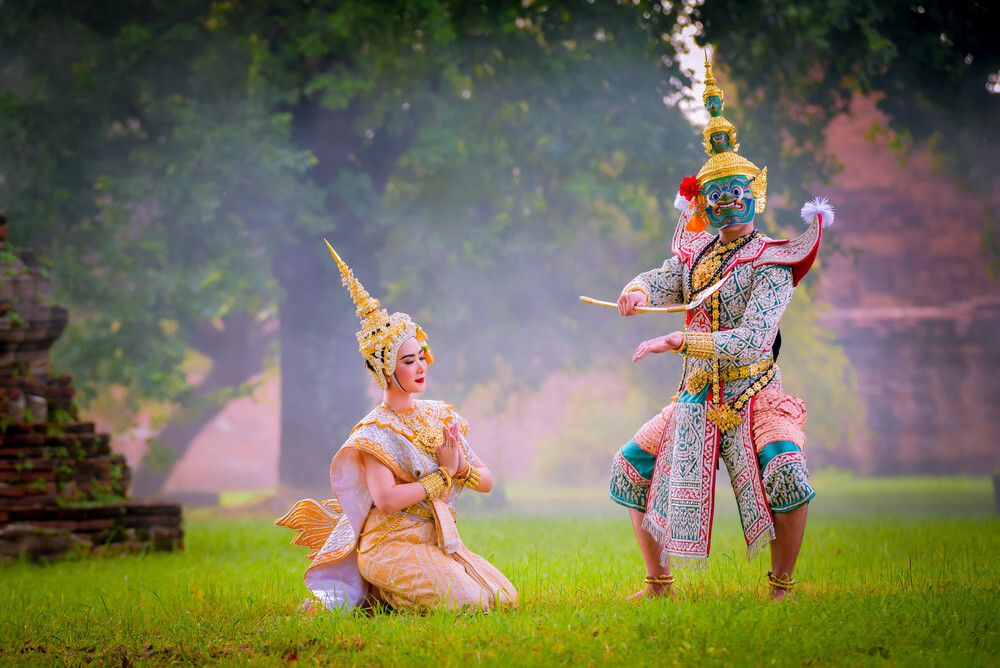 There are hundreds of versions of Ramayana