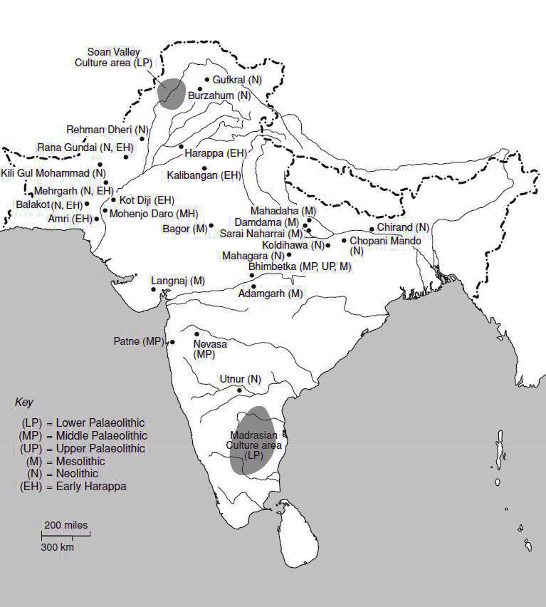 Ancient Map of India