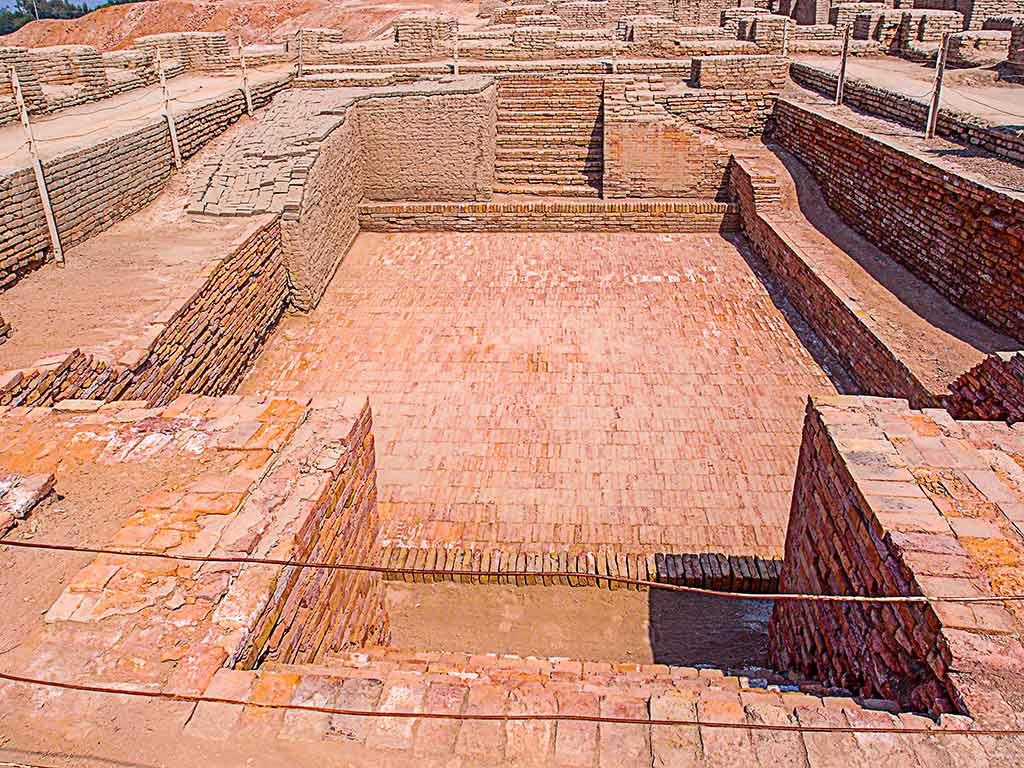 Great Bath, Mohenjo-Daro