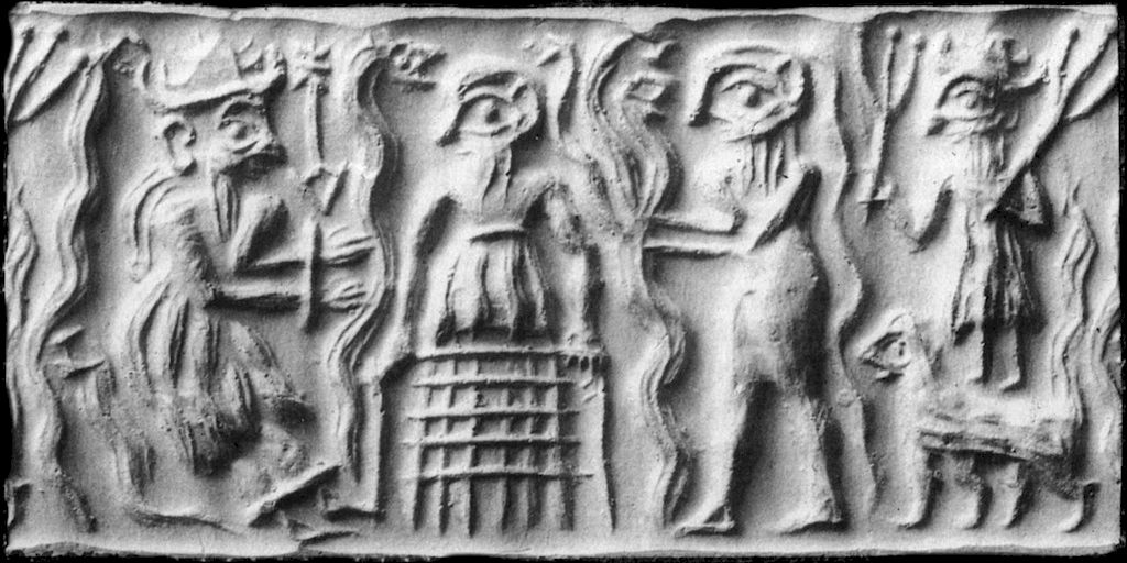 Sumerian concept of hell