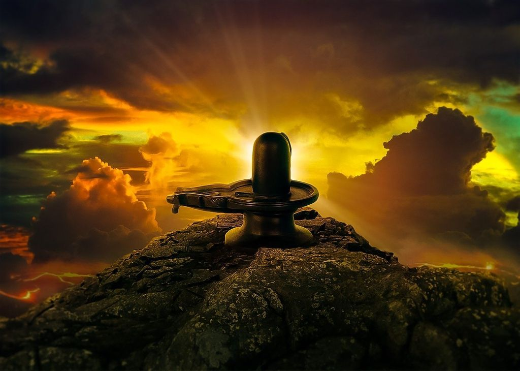 Another description of the origin of the lingam gives a more sensuous portrayal