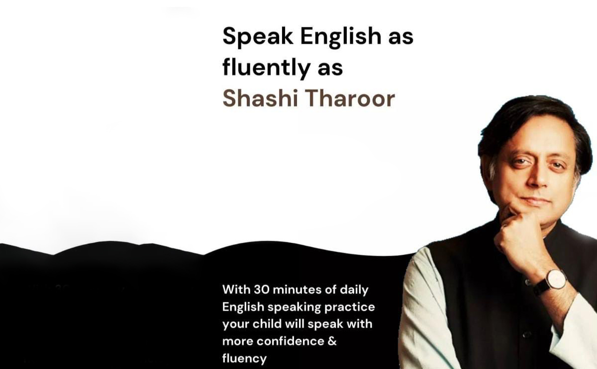 Shashi Tharoor Threatens Legal Action Against App that Claims to Teach 'Fluent English' Like Him