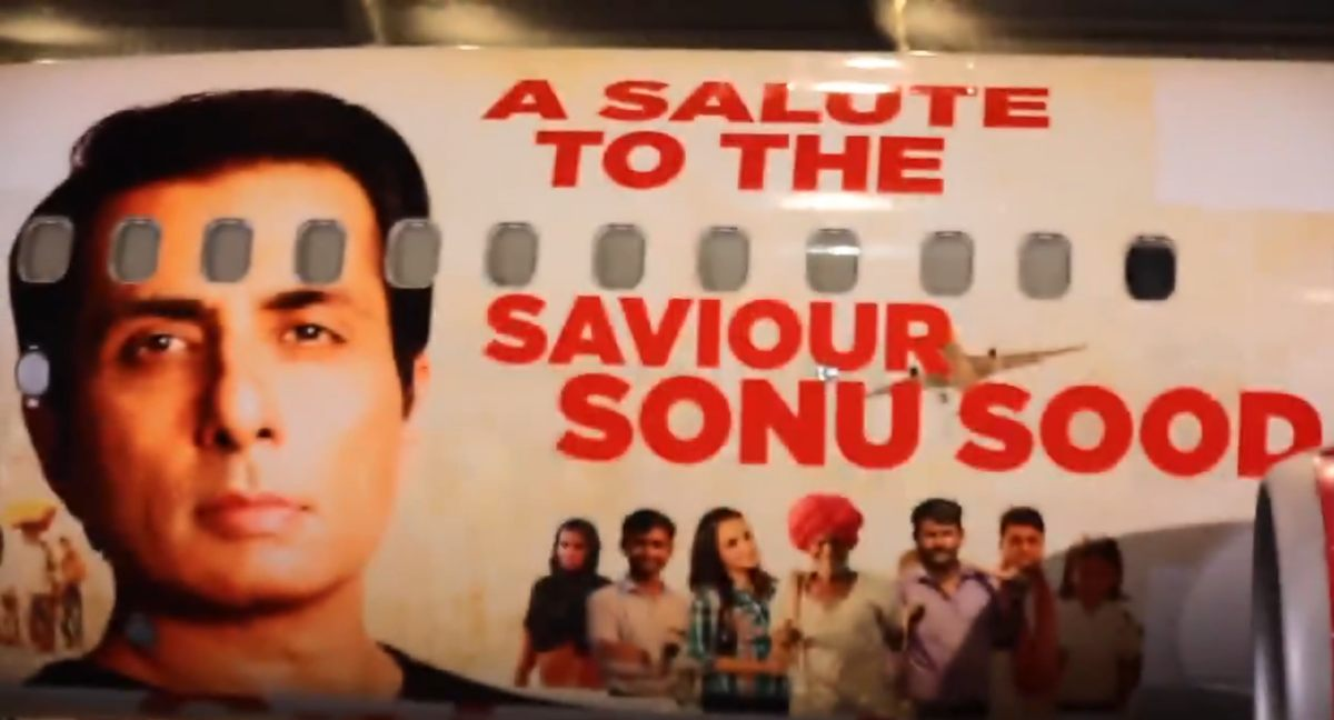 SpiceJet Salutes Savior Sonu Sood With Special Boeing 737