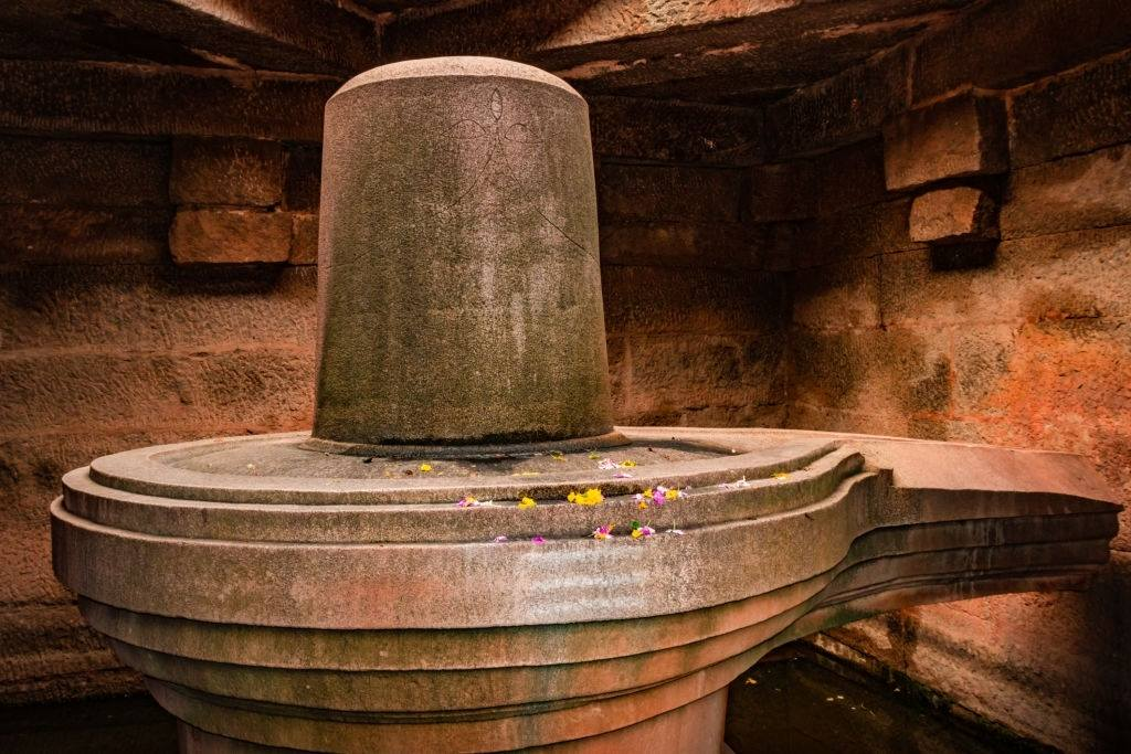 Stone Shiva Linga