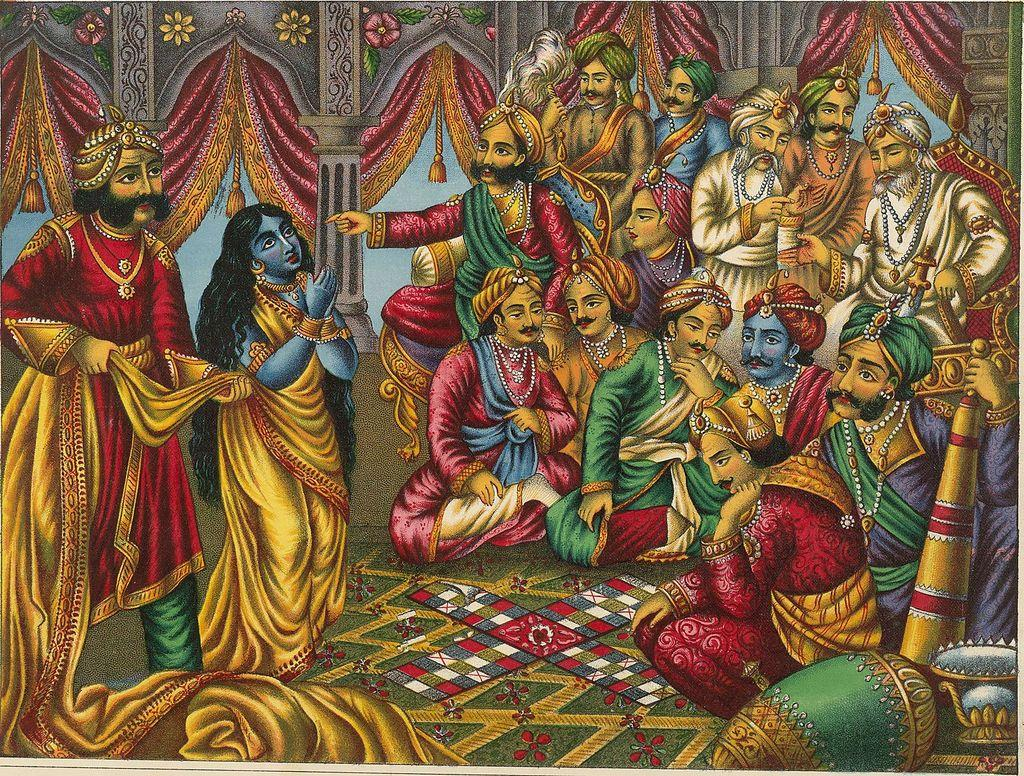 The only person in King Dhritrashtra court who was firmly against the game of dice