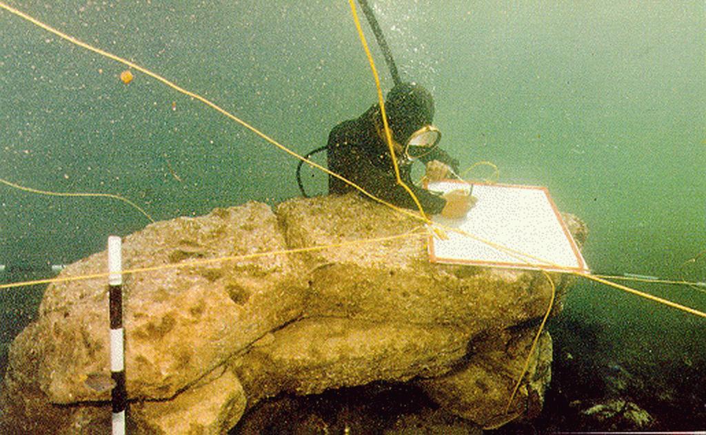 Underwater Dwarka City Original Image