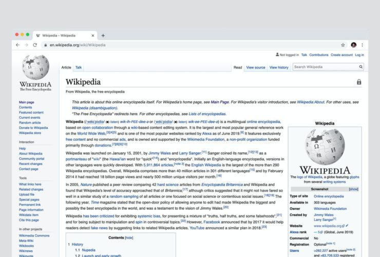 Wikipedia Intends To Charge Apple, Google, and Amazon For Using Its Content