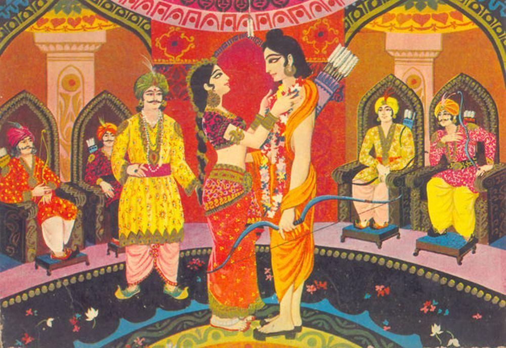 Marriage of Draupadi