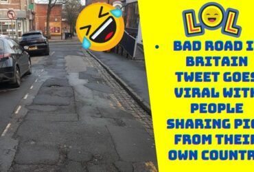 Tweet Showing Damaged Road in UK is a Hilarious Viral Thread with People Across the Globe Sharing their Pictures