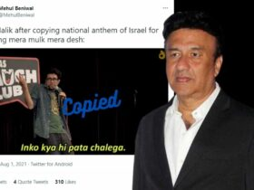 Anu Malik Roasted For Copying Israel's National Anthem in His Patriotic Song 'Mera Mulk' From Diljale Movie