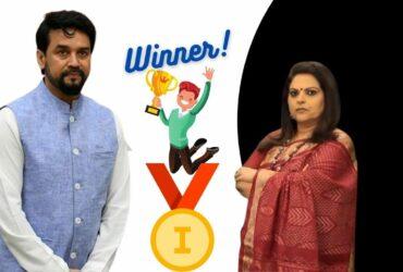 Journo Navika Kumar Credits India's Olympics Wins to Minister Anurag Thakur, Gets Roasted